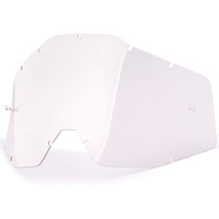 100% Replacement Clear Anti-Fog Lens for Racecraft/Accuri/Strata Goggles
