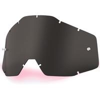 100% Replacement Dark Smoke Anti-Fog Lens for Racecraft/Accuri/Strata Goggles