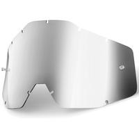 100% Replacement Silver Mirror Lens for Racecraft/Accuri/Strata Goggles