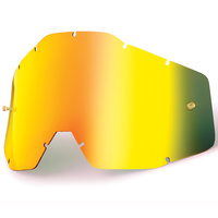 100% Replacement Gold Mirror Lens for Accuri/Strata Youth Goggles