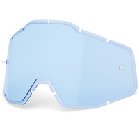 100% Replacement Blue Injected Plus Lens for Racecraft/Accuri/Strata Goggles