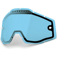 100% Replacement Light Blue Vented Dual Pane Lens for Racecraft/Accure/Strata Goggles