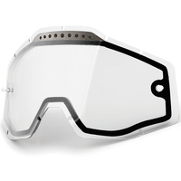 100% Replacement Clear Vented Dual Pane Lens for Racecraft/Accure/Strata Goggles
