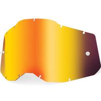 100% Mirror Red Lens for Racecraft2/Accuri2/Strata2 Goggles