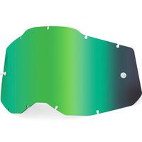 100% Mirror Green Lens for Racecraft2/Accuri2/Strata2 Goggles