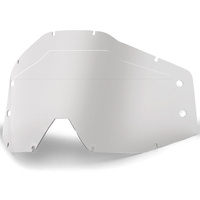 100% Replacement Clear Lens w/Sonic Bumps for Accuri/Strata Forecast Goggles