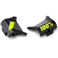 100% Replacement Canister Cover Kit Black/Yellow for Accuri Forecast Goggles
