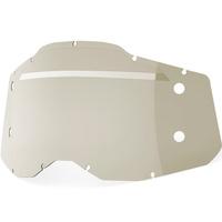 100% Forecast Smoke Lens for Racecraft2/Accuri2/Strata2 Goggles