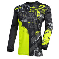 Oneal 2021 Element Jersey Ride Black/Neon Yellow