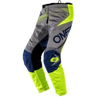 Oneal 2020 Element Pants Factor Grey/Blue/Yellow