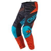 Oneal 2020 Element Pants Factor Grey/Orange/Blue