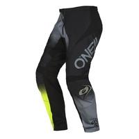 Oneal 2022 Element Pants Racewear V.22 Black/Grey/Neon Yellow