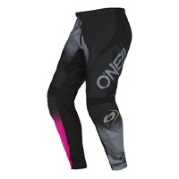 Oneal 2022 Element Youth Pants Racewear V.22 Black/Grey/Pink