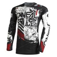 Oneal 2022 Mayhem Youth Jersey Scarz V.22 Black/White