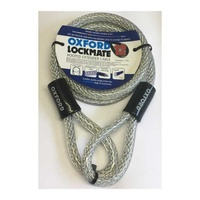 Oxford Lockmate Cable 12 12mm x 2m Silver