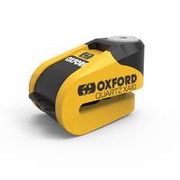 Oxford Quartz XA10 Alarm Lock Yellow/Black