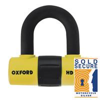 Oxford HD Max Disc Lock Yellow