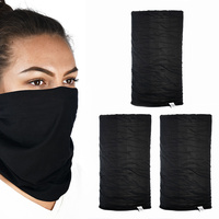 Oxford Comfy Head/Neck Wear Black (3 Pack)