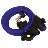 Oxford Cable Lock 12mm x 1.8m Blue