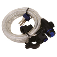 Oxford Cable Lock 12mm x 1.8m Silver