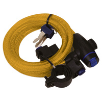 Oxford Cable Lock 12mm x 1.8m Gold