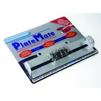 Oxford Platemate Number Plate Holder Silver