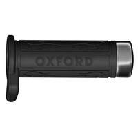 Oxford Dark Chrome End Caps for Cruiser Grips OF697