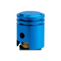 Oxford Piston Valve Caps Blue (2 Pack)