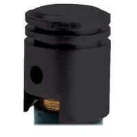 Oxford Piston Valve Caps Black (2 Pack)