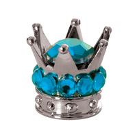 Oxford Crown Valve Caps Blue