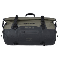 Oxford Aqua T Roll Bag 50L Khaki/Black