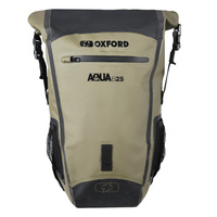 Oxford Aqua B 25 All-Weather Back Pack 25L Khaki/Black
