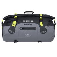 Oxford Aqua T Roll Bag 30L Black/Grey/Fluro Yellow