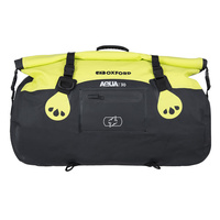 Oxford Aqua T Roll Bag 30L Black/Fluro Yellow