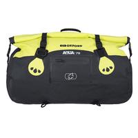 Oxford Aqua T Roll Bag 70L Black/Fluro Yellow