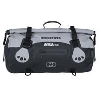 Oxford Aqua T Roll Bag 50L Grey/Black