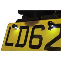Oxford Eyeshot LED Halo Bolts Number Plate Light