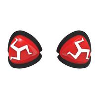 Oxford Manx Knee Sliders Red