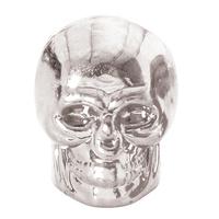 Oxford Skull Valve Caps Silver