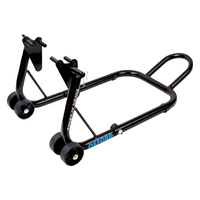 Oxford Big Black Bike Paddock Front Stand for Wheels up to 17""