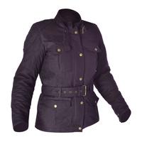 Oxford Bradwell Womens Wax Cotton Jacket Violet