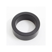 """Performance Machine P00110500MPB Left Side Hand Control Spacer Black for 1"""" Bars"""