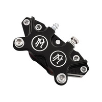 Performance Machine P00522400BM Universal 4 Piston Caliper 125 x 4R Contast Cut
