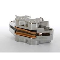 Performance Machine P00522503CH Universal 4 Piston Caliper 125 x 4RSPH Chrome