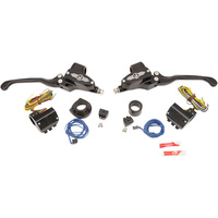 Performance Machine P00624020BM Complete Handlebar Control Kit w/Hydraulic Clutch (Exc '11up Models) Contrast Cut (Kit)