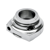 Performance Machine P00632000CH Throttle Housing Single Cable Chrome