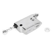 "Performance Machine P00652900CH Rear Brake Master Cylinder Forward Control 11/16"" Bore Chrome"