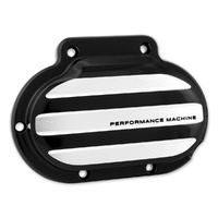 Performance Machine P00662031BM Drive Clutch Cable Cover Big Twin'07up 6 Speed Contrast Cut