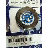 """Performance Machine P00713004 ABS Sensor Plate for Touring 14-Up/Softail 15-Up Models w/26"""" Front Performance Machine Wheels"""