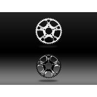 Performance Machine P00900548GATBM Gasser/Luxe 48T Rear Chain Sprocket Contrast Cut